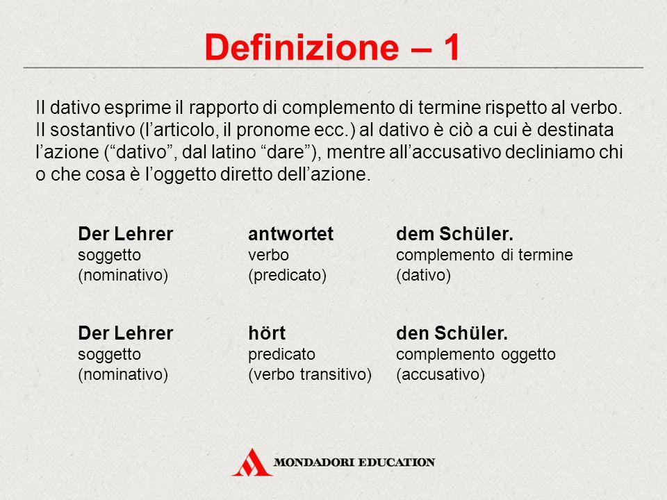 Definizione – 1