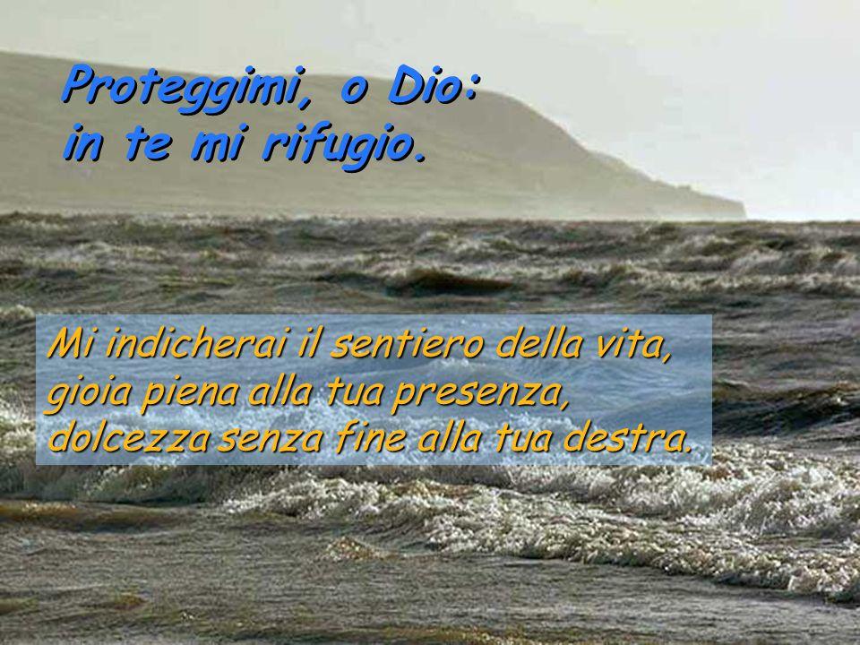 Proteggimi, o Dio: in te mi rifugio.