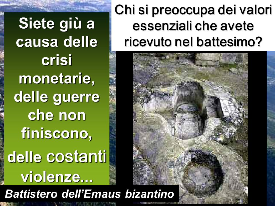 Battistero dell'Emaus bizantino