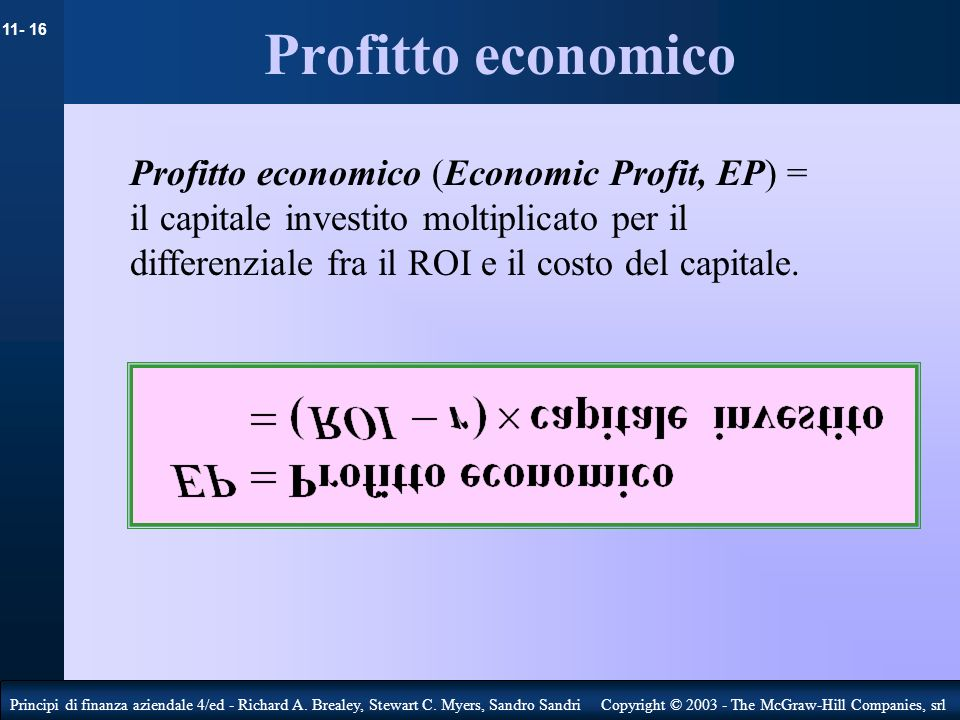 Profitto economico