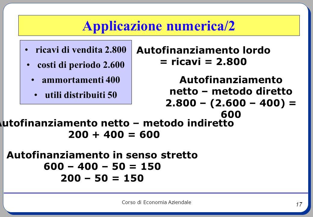 Applicazione numerica/2