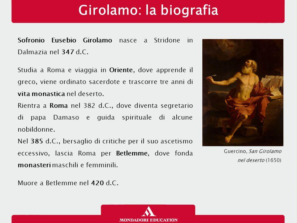 Girolamo: la biografia