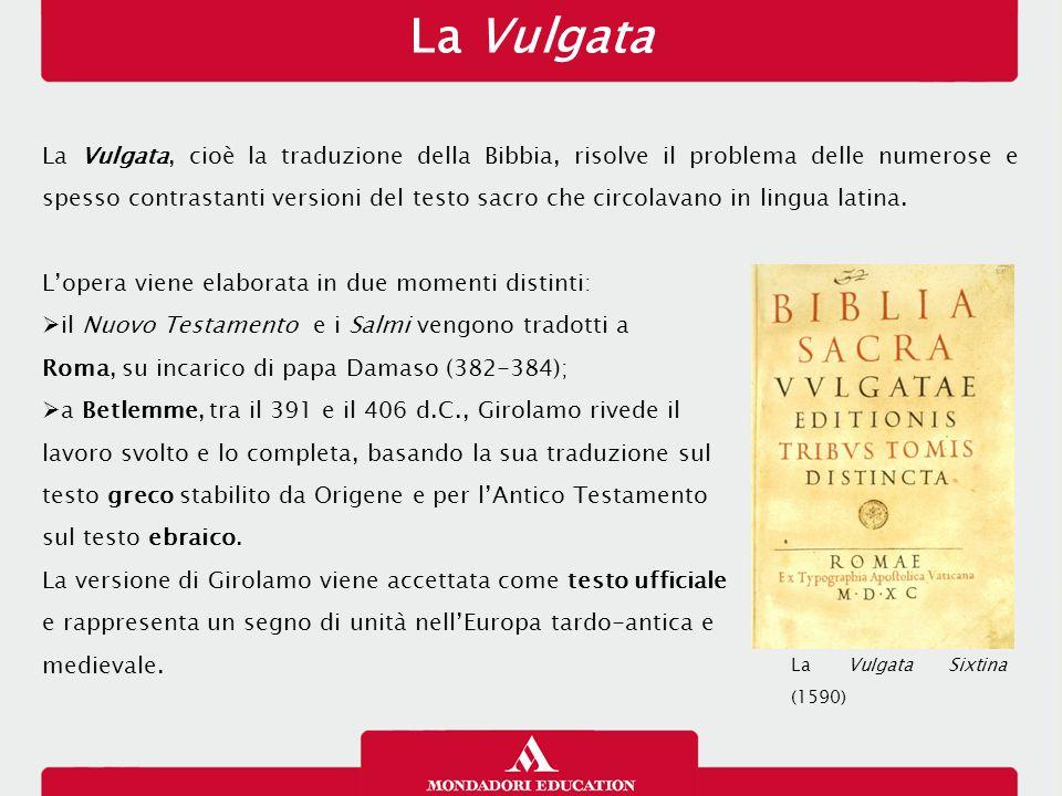 La Vulgata 26/01/13.