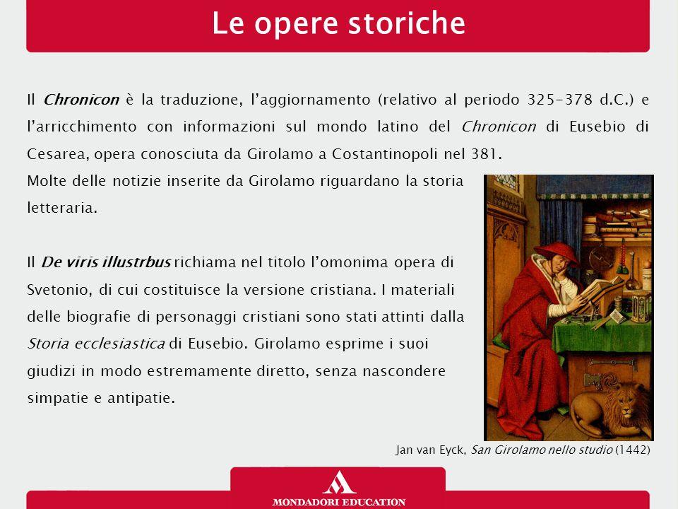 Le opere storiche 26/01/13.