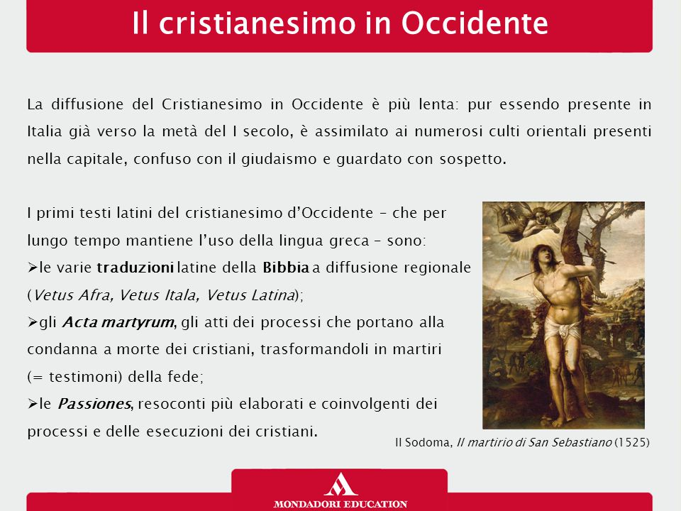 Il cristianesimo in Occidente