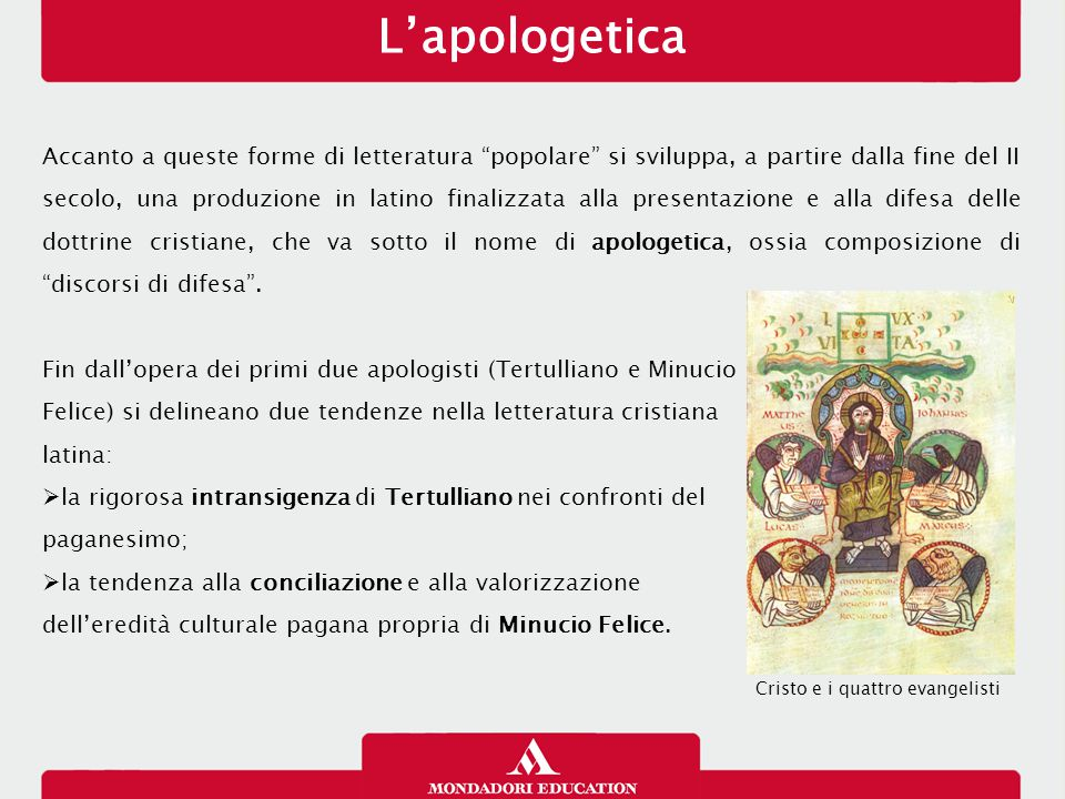 L'apologetica 26/01/13.