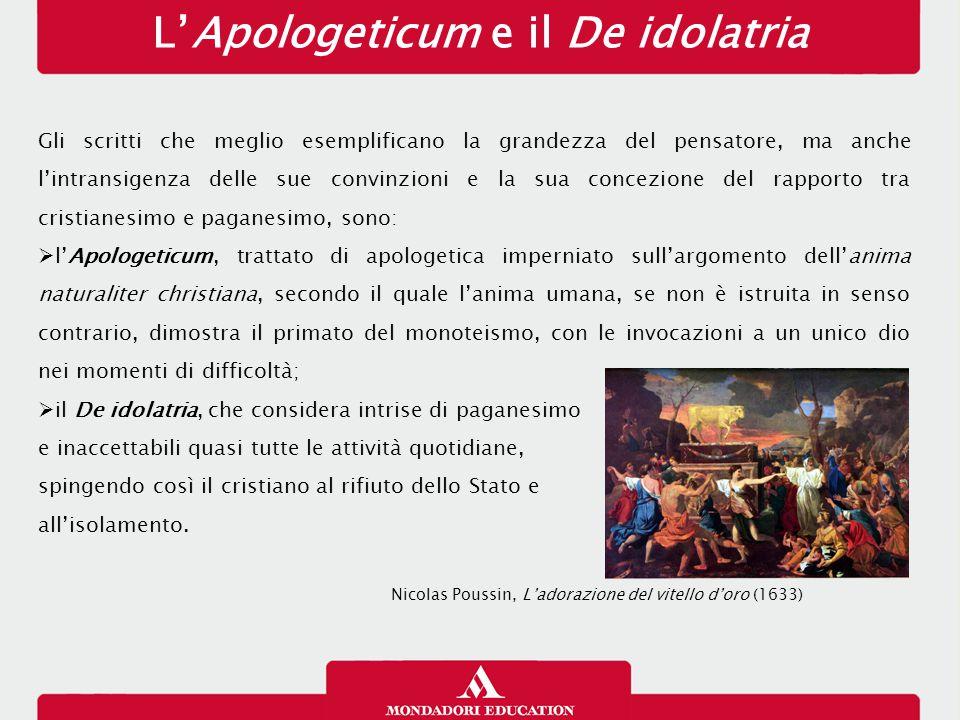 L'Apologeticum e il De idolatria