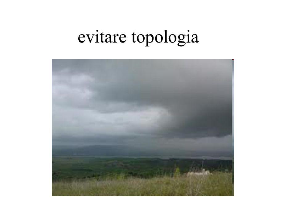 evitare topologia
