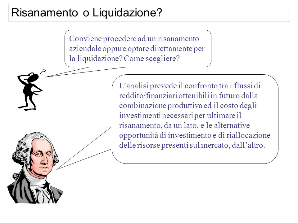 Risanamento o Liquidazione
