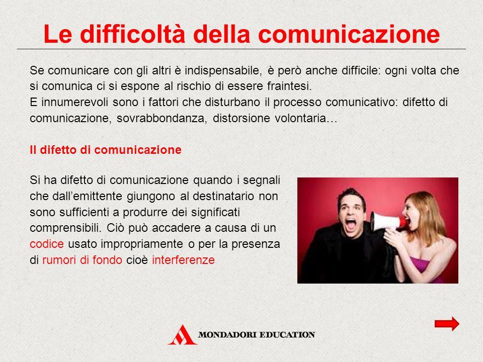 Le difficoltà della comunicazione