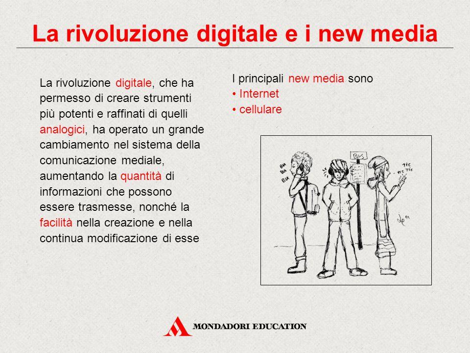 La rivoluzione digitale e i new media
