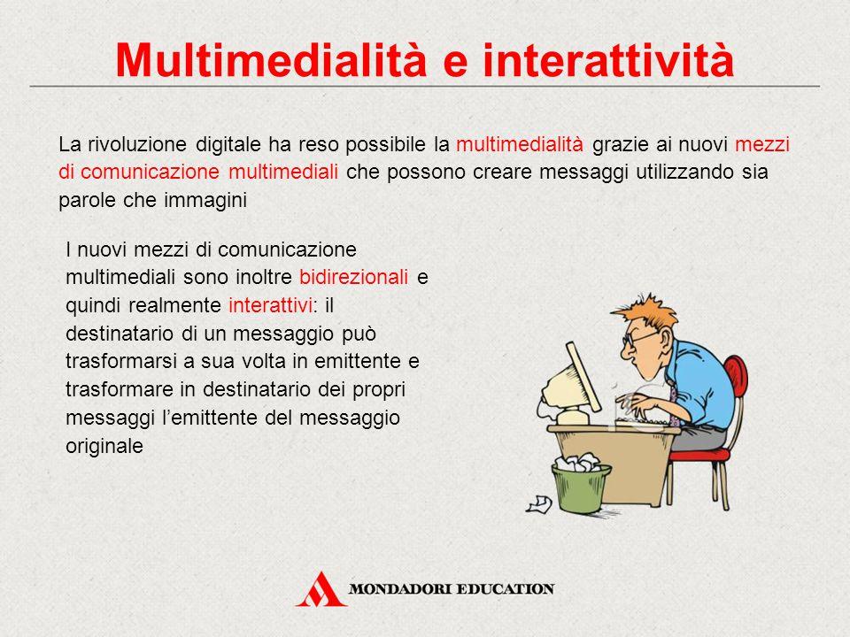 Multimedialità e interattività