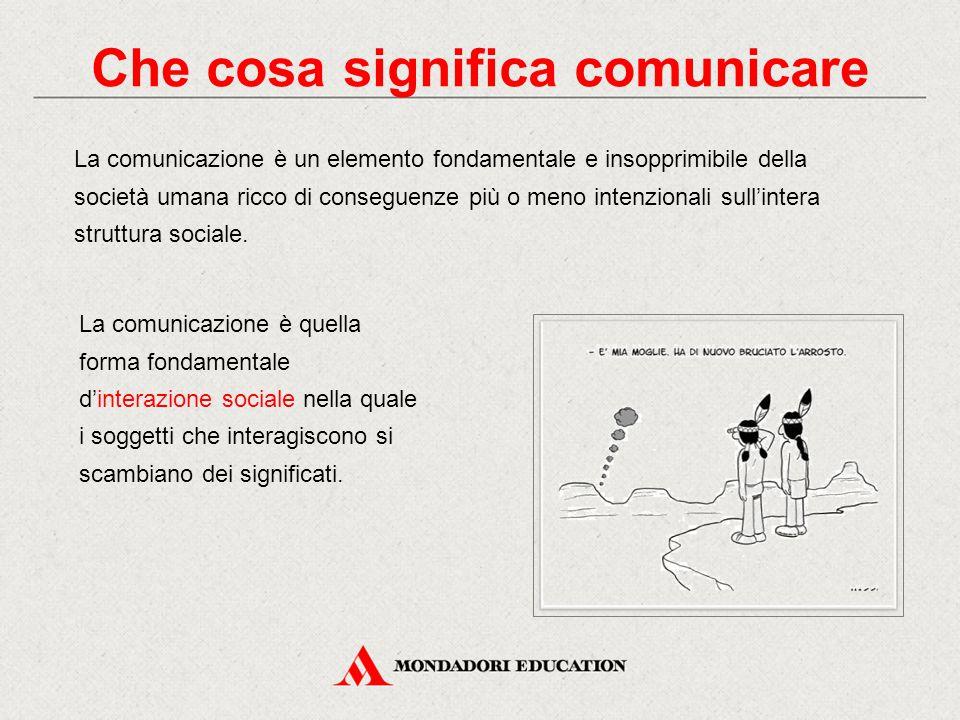 Che cosa significa comunicare