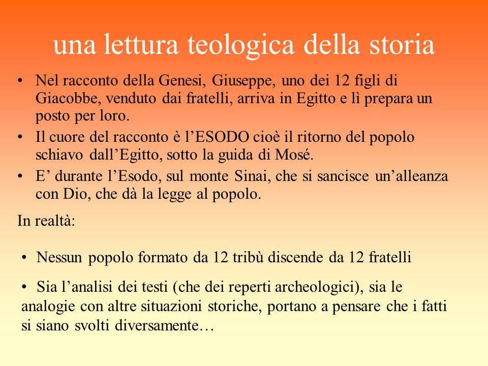 una lettura teologica della storia