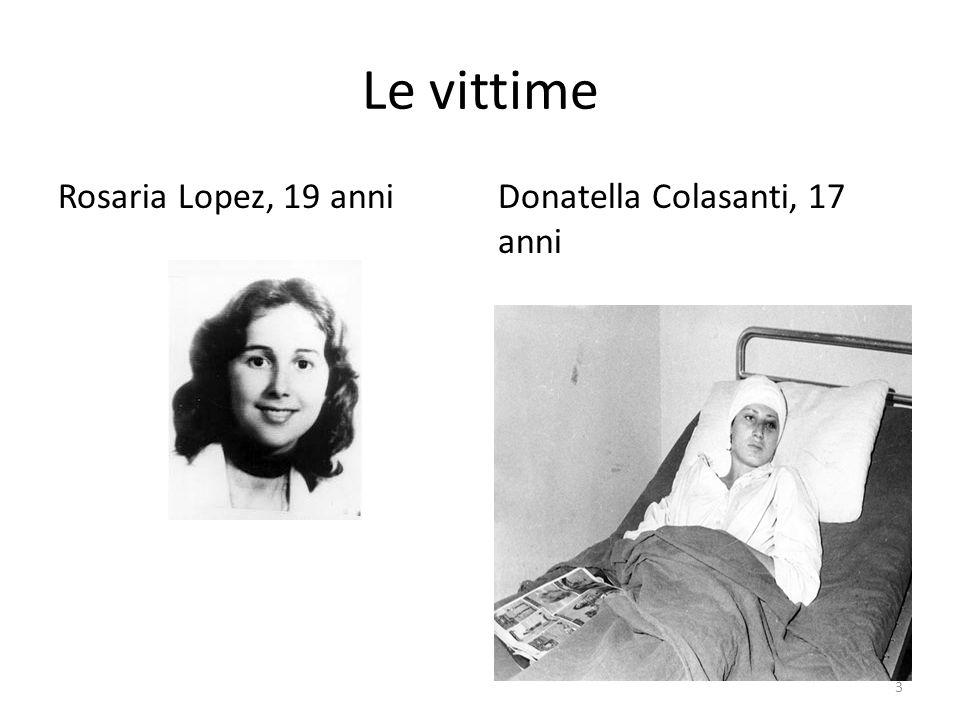 Le vittime Rosaria Lopez, 19 anni Donatella Colasanti, 17 anni