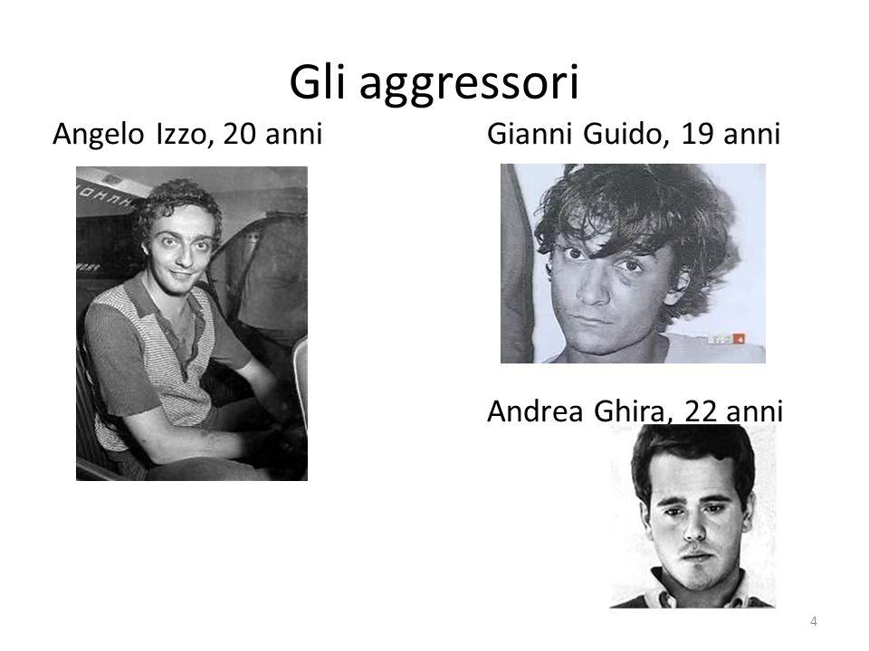 Gli aggressori Andrea Ghira, 22 anni