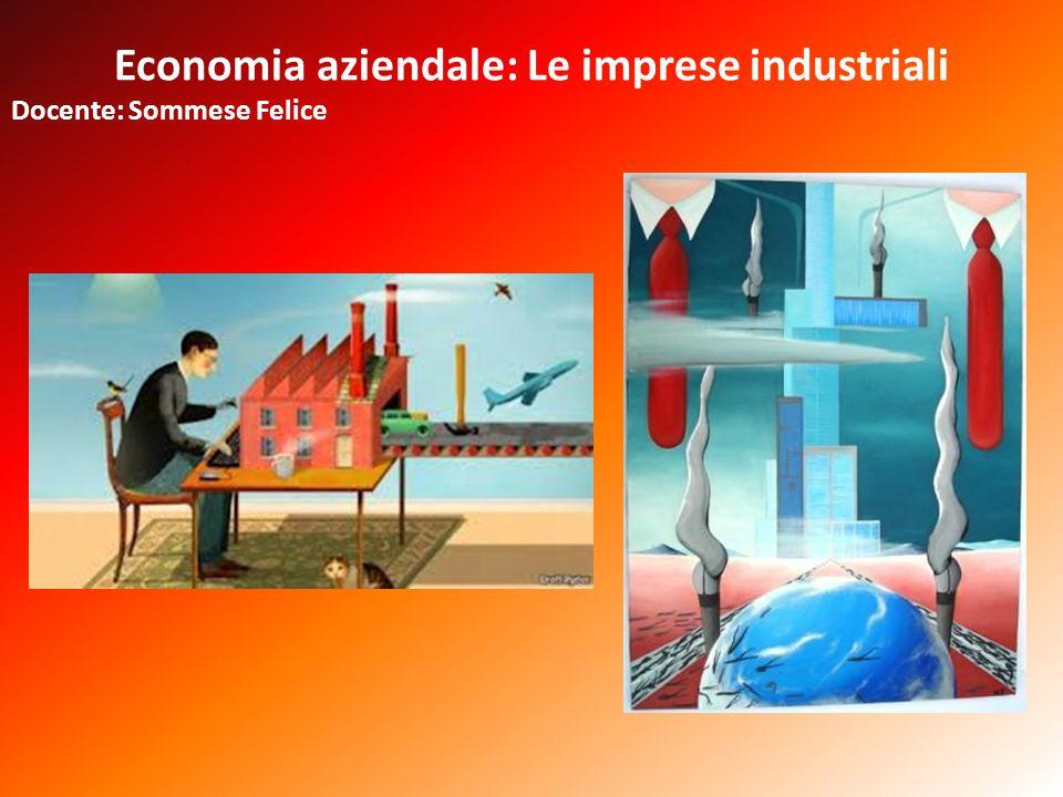 Economia aziendale: Le imprese industriali