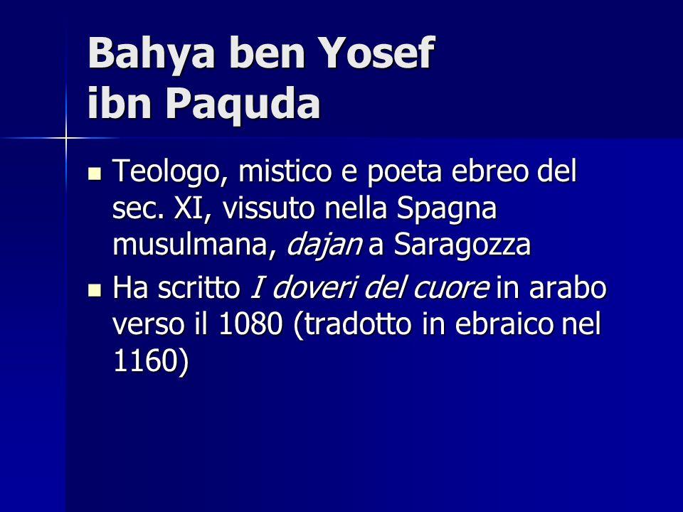 Bahya ben Yosef ibn Paquda