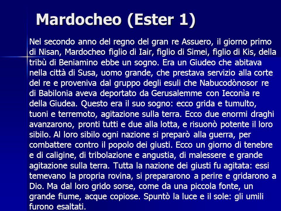 Mardocheo (Ester 1)