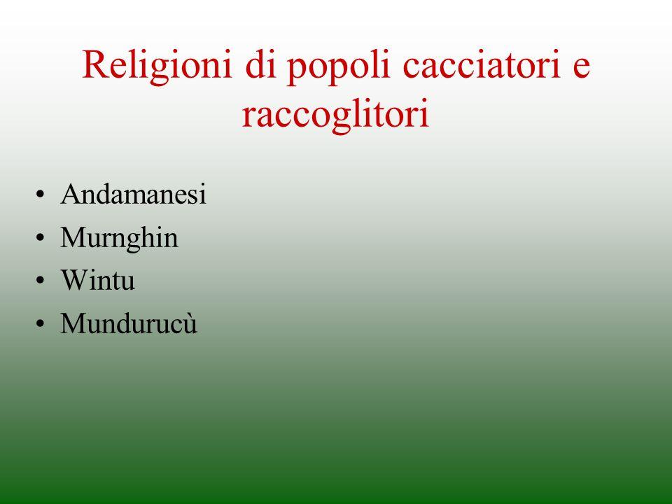 Religioni di popoli cacciatori e raccoglitori