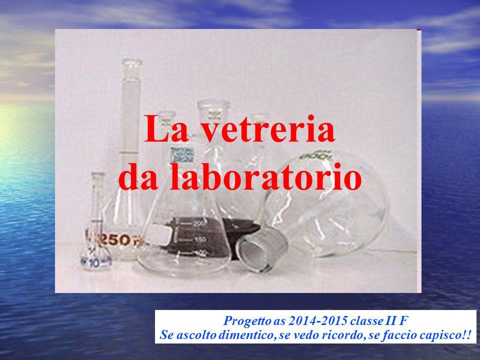 La vetreria da laboratorio