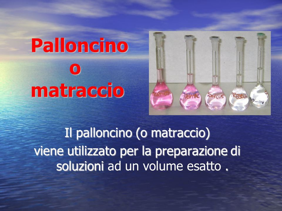 Palloncino o matraccio