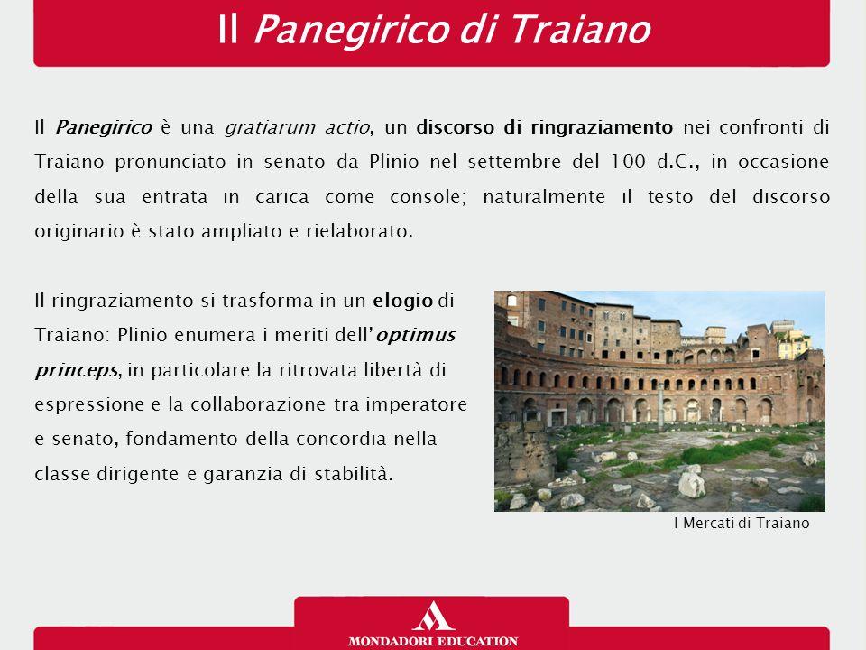 Il Panegirico di Traiano