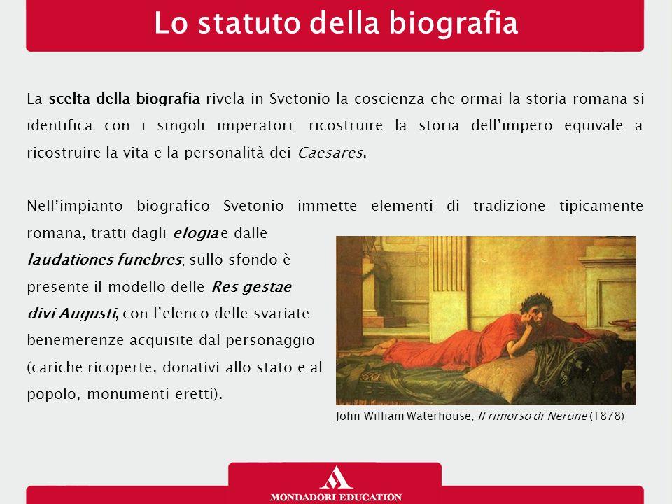 Lo statuto della biografia