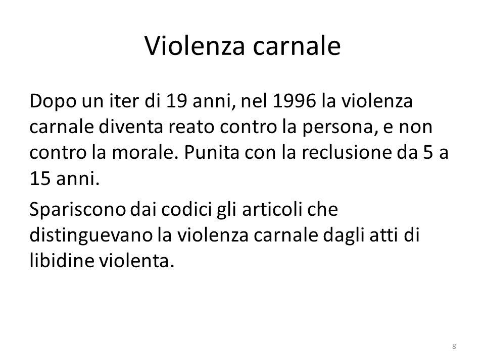 Violenza carnale