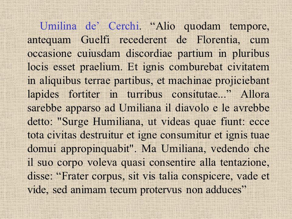 Umilina de' Cerchi.
