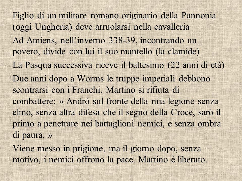 Figlio di un militare romano originario della Pannonia (oggi Ungheria) deve arruolarsi nella cavalleria