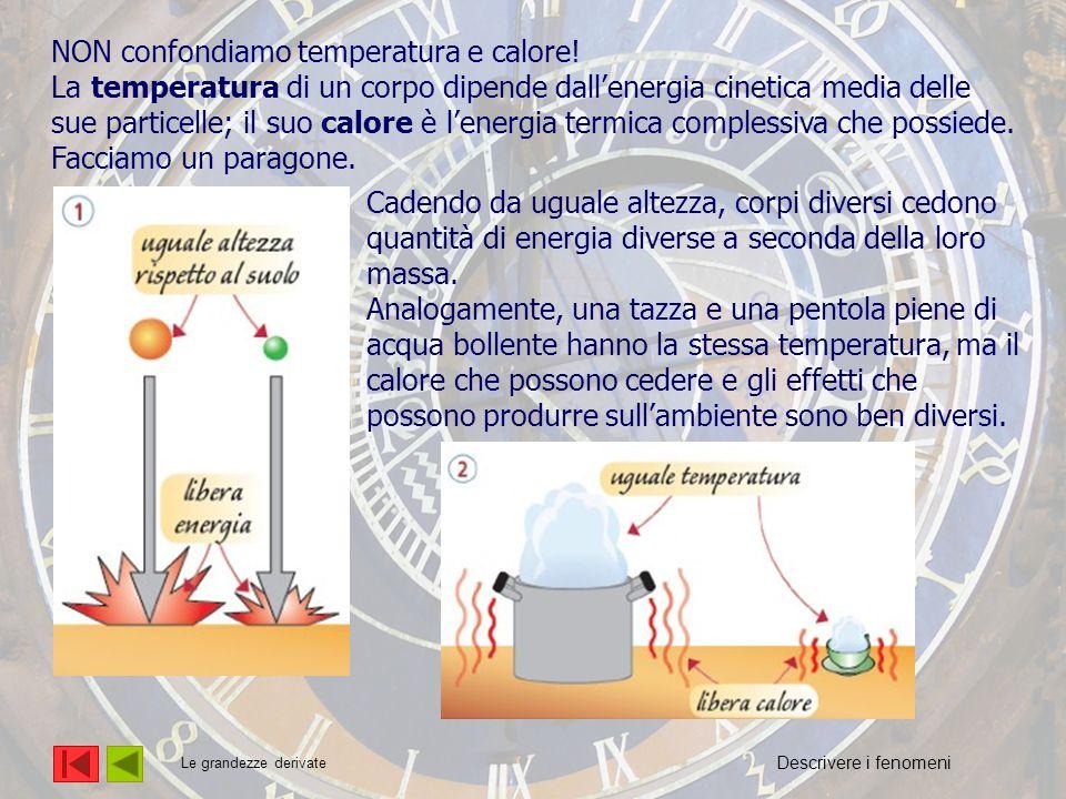 L'energia NON confondiamo temperatura e calore!