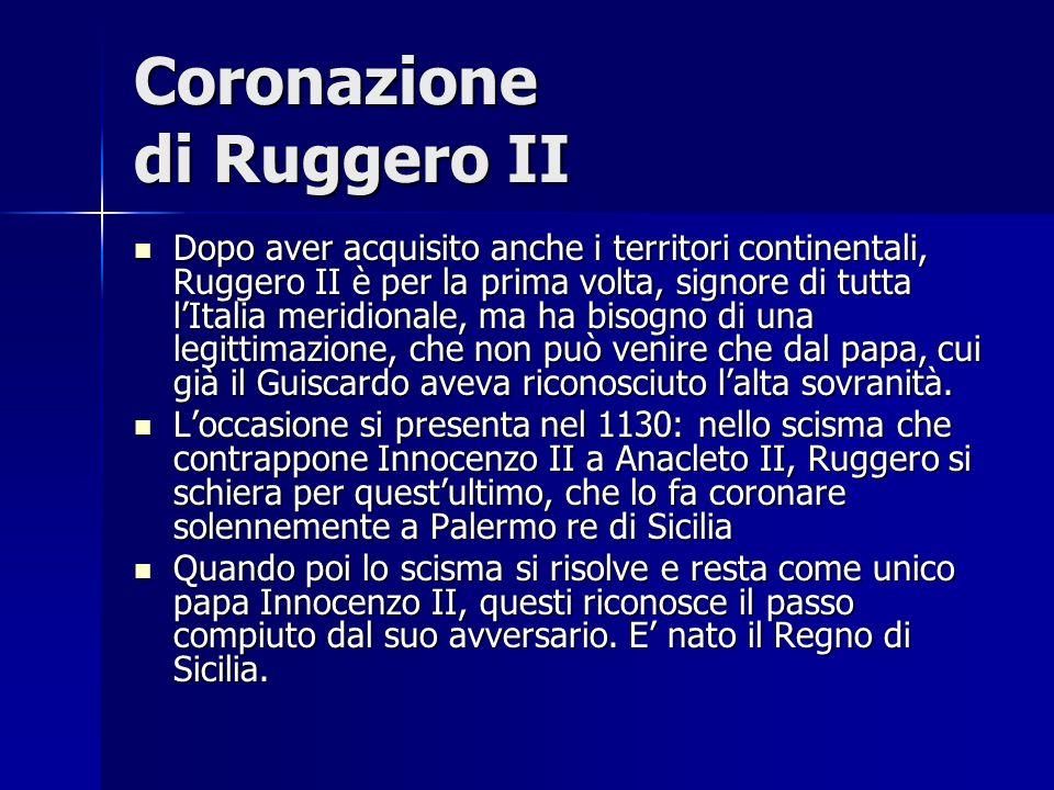 Coronazione di Ruggero II