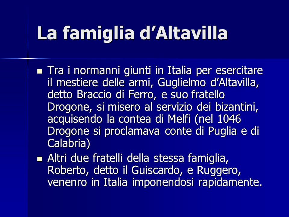 La famiglia d'Altavilla