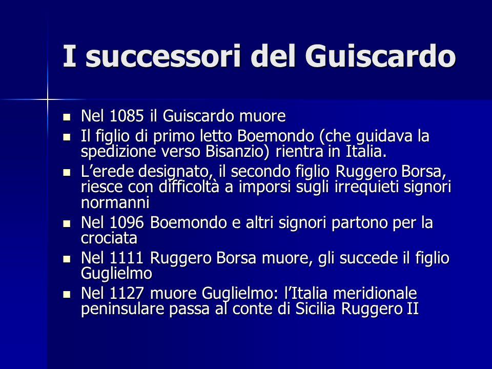 I successori del Guiscardo