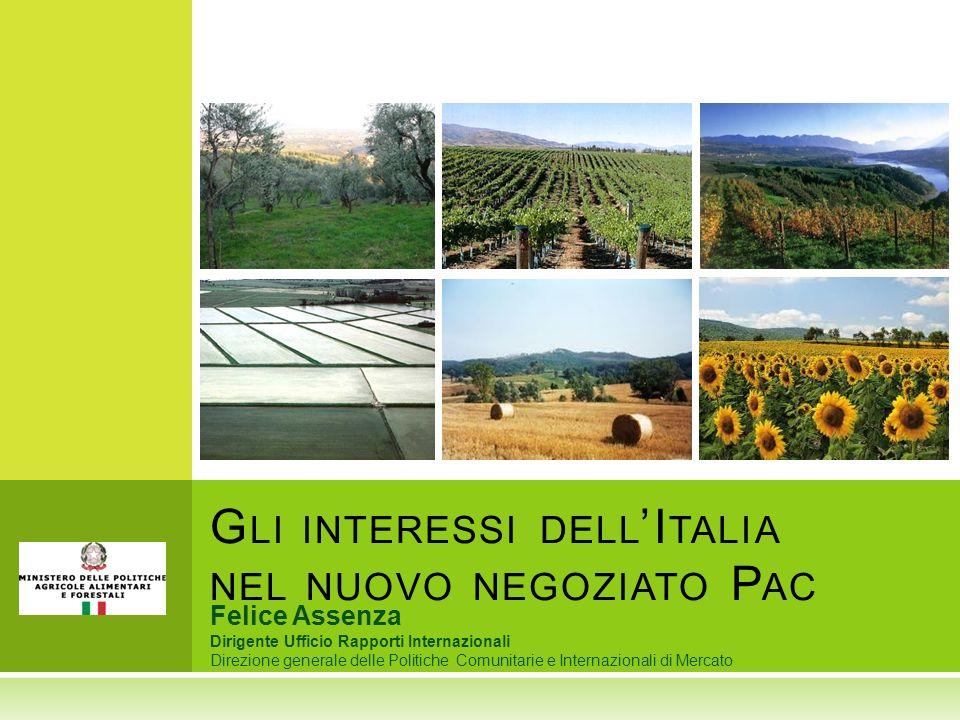 Gli interessi dell'Italia nel nuovo negoziato Pac