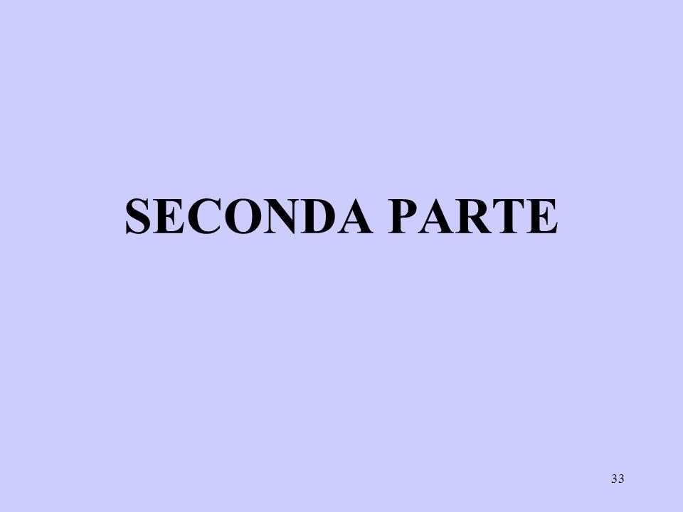 SECONDA PARTE