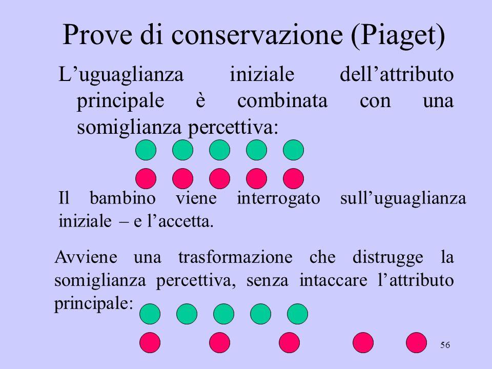 Prove di conservazione (Piaget)