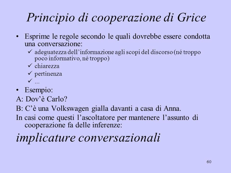 Principio di cooperazione di Grice