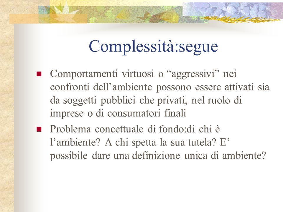 Complessità:segue