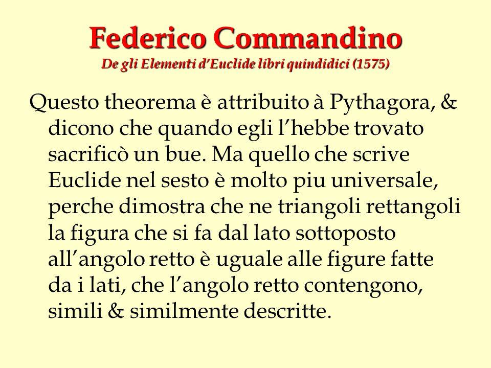 Federico Commandino De gli Elementi d'Euclide libri quindidici (1575)