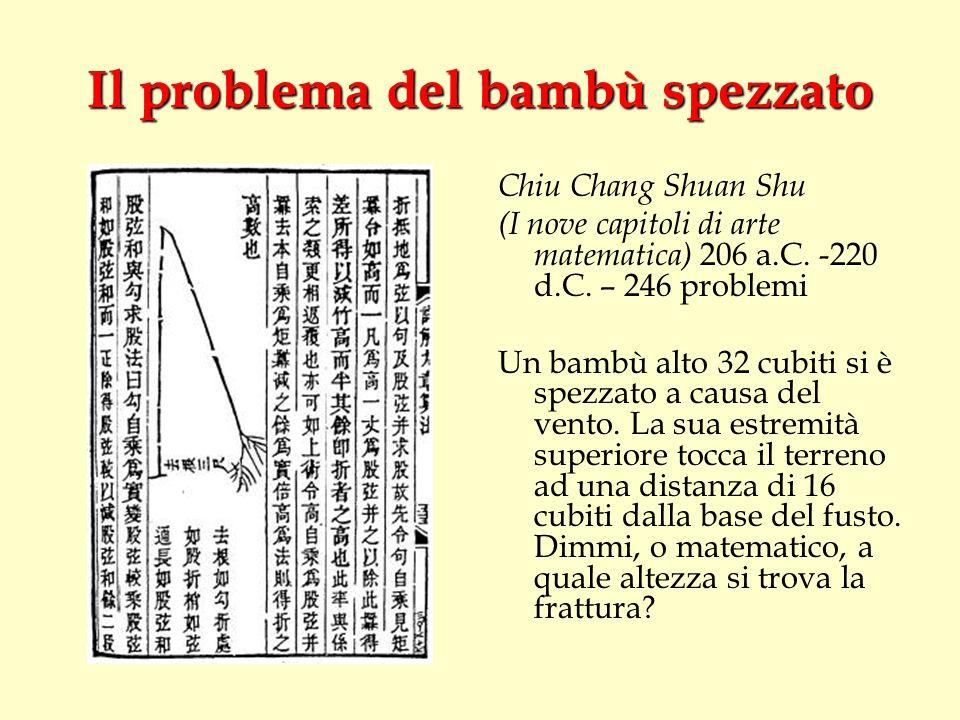 Il problema del bambù spezzato