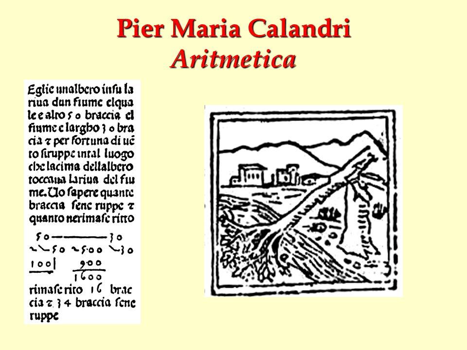 Pier Maria Calandri Aritmetica