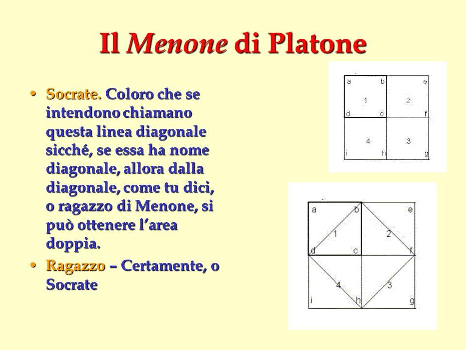 Il Menone di Platone