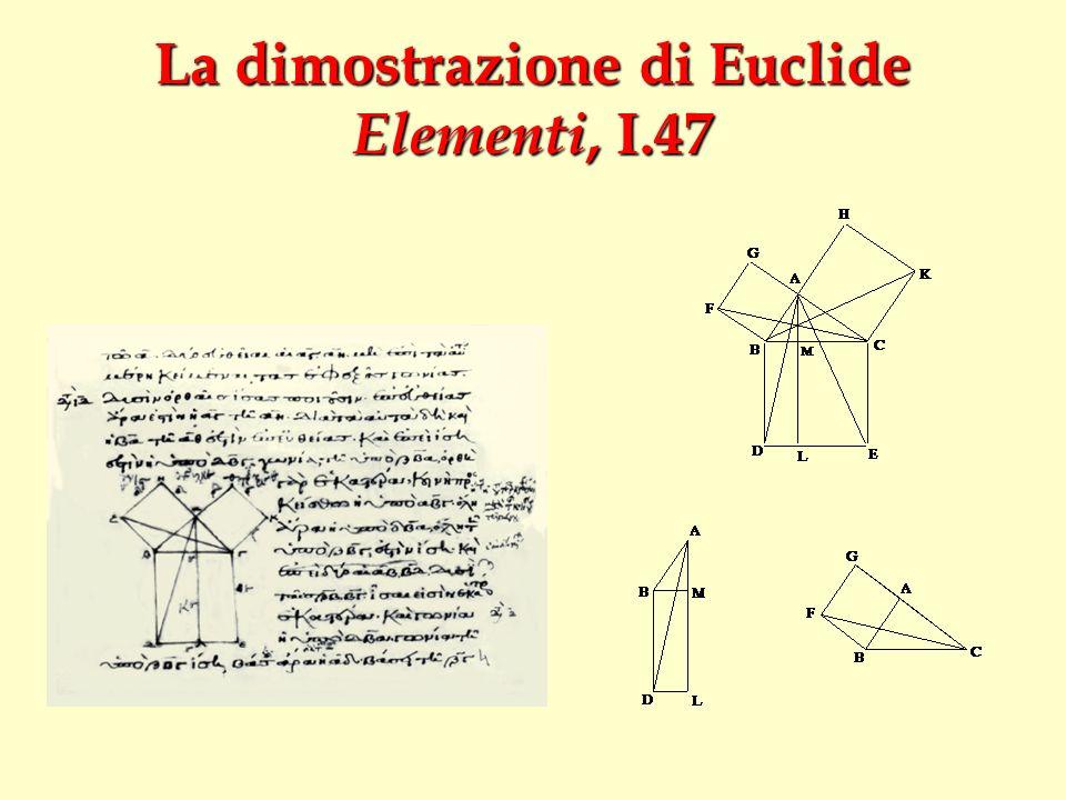 La dimostrazione di Euclide Elementi, I.47