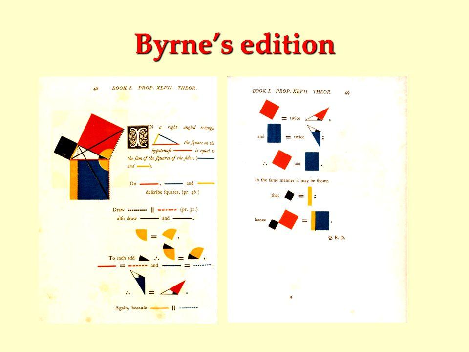 Byrne's edition