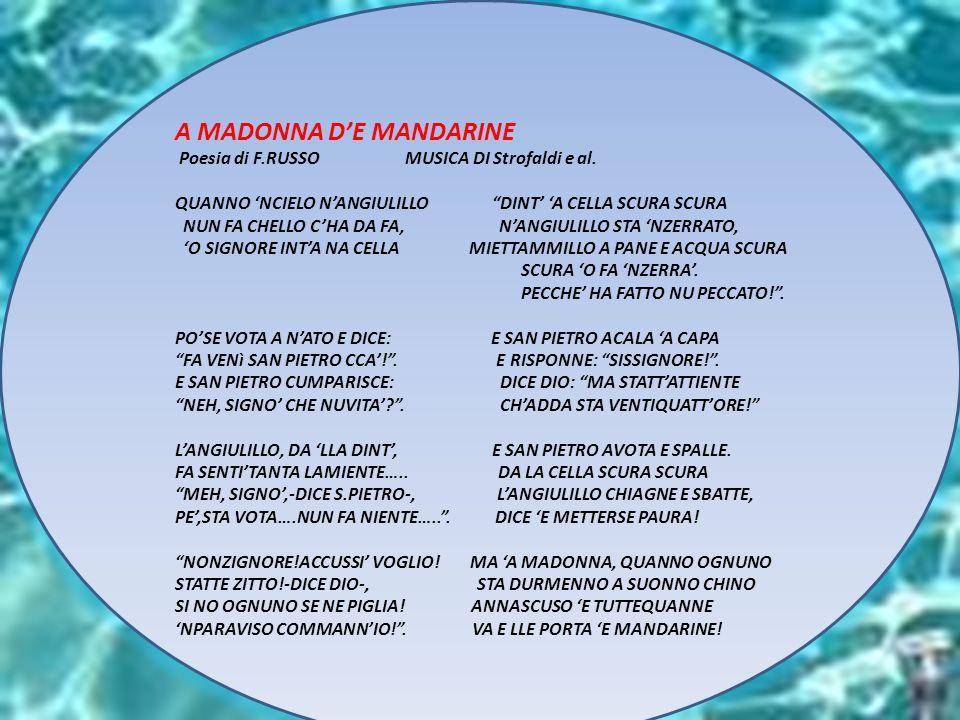A MADONNA D'E MANDARINE