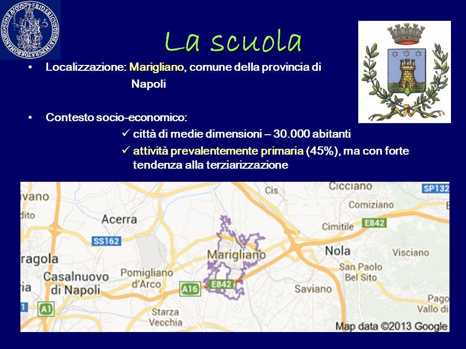 La scuola Localizzazione: Marigliano, comune della provincia di Napoli