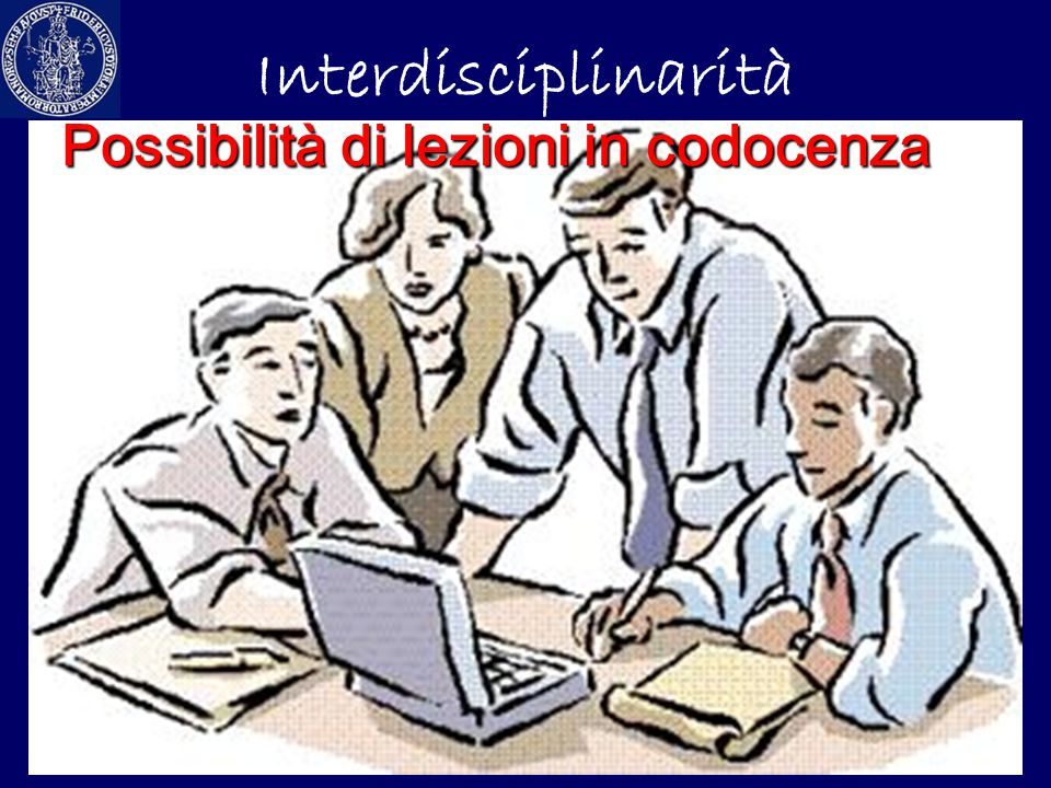 Possibilità di lezioni in codocenza