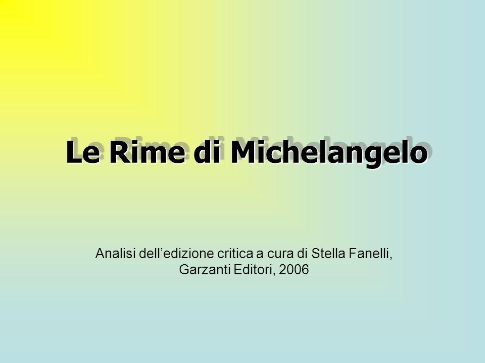 Le Rime di Michelangelo